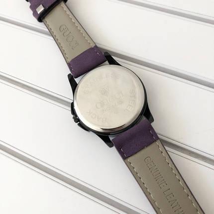 Наручные часы Gucci 1483 Violet-Black, фото 2