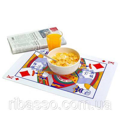 """Набор ковриков под посуду """"Карты"""""""