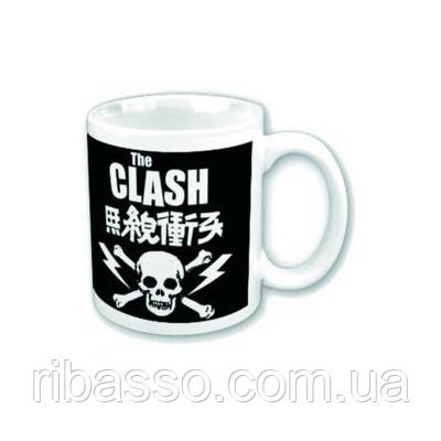 "Кружка ""The Clash Boxed-Skull & Crossbones"""