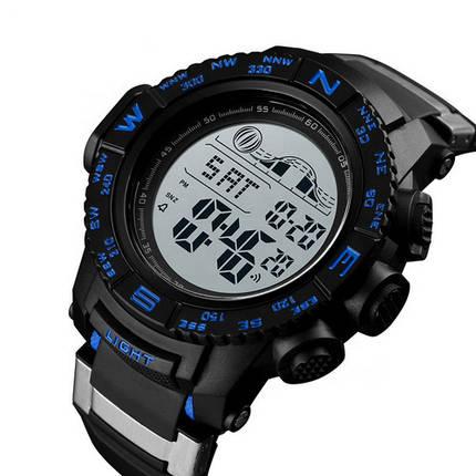 Оригинальные наручные часы Skmei 1380 Black Blue | Оригинал Скмей, Гарантия 1 год!, фото 2