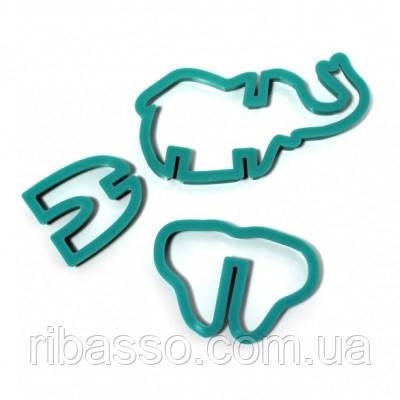 """Форма для домашнего печенья """"Животные"""" (3D формат)"""