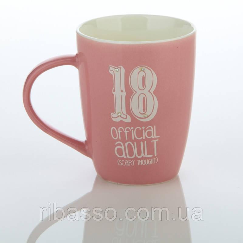"Кружка ""Official Adult 18"""