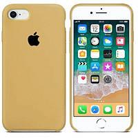 Силіконовий чохол накладка Apple Silicone Case для Apple iPhone XS Max Mustard