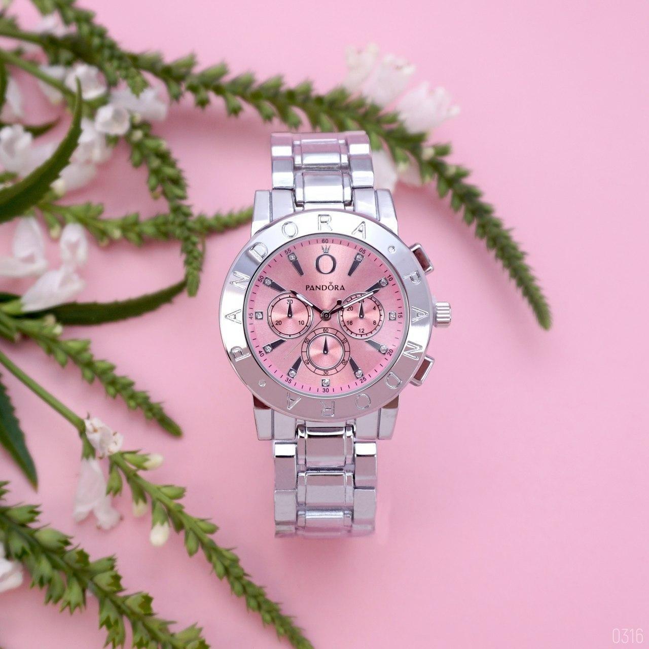 Наручные часы Pandora 7289 Silver-Pink