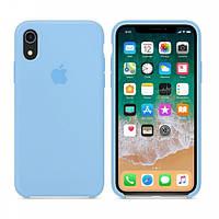 Силіконовий чохол накладка Apple Silicone Case для Apple iPhone XR Light Blue