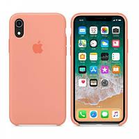 Силіконовий чохол накладка Apple Silicone Case для Apple iPhone XR Pink