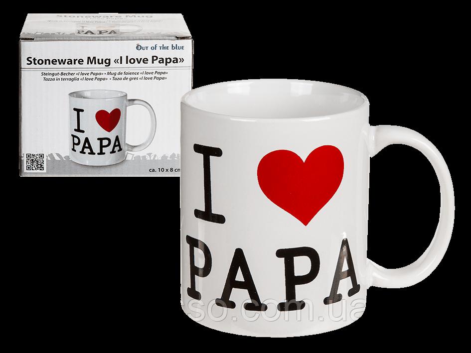 "Кружка ""I Love Papa"""