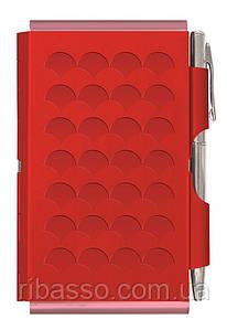Troika Карманный блокнот с ручкой Diamond, красный