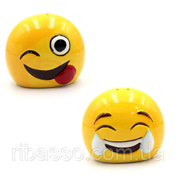 Набор Balvi для приправ Emoji керамический