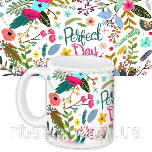 """Чашка """"Perfect day"""""""