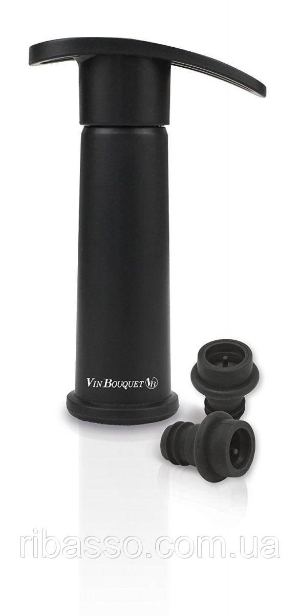 Vin Bouquet Консерватор вина механический Защита вкуса с вакуумными пробками, пластик