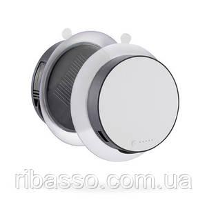 Зарядное устройство Port 1000 mAh на солнечной батарее, серый