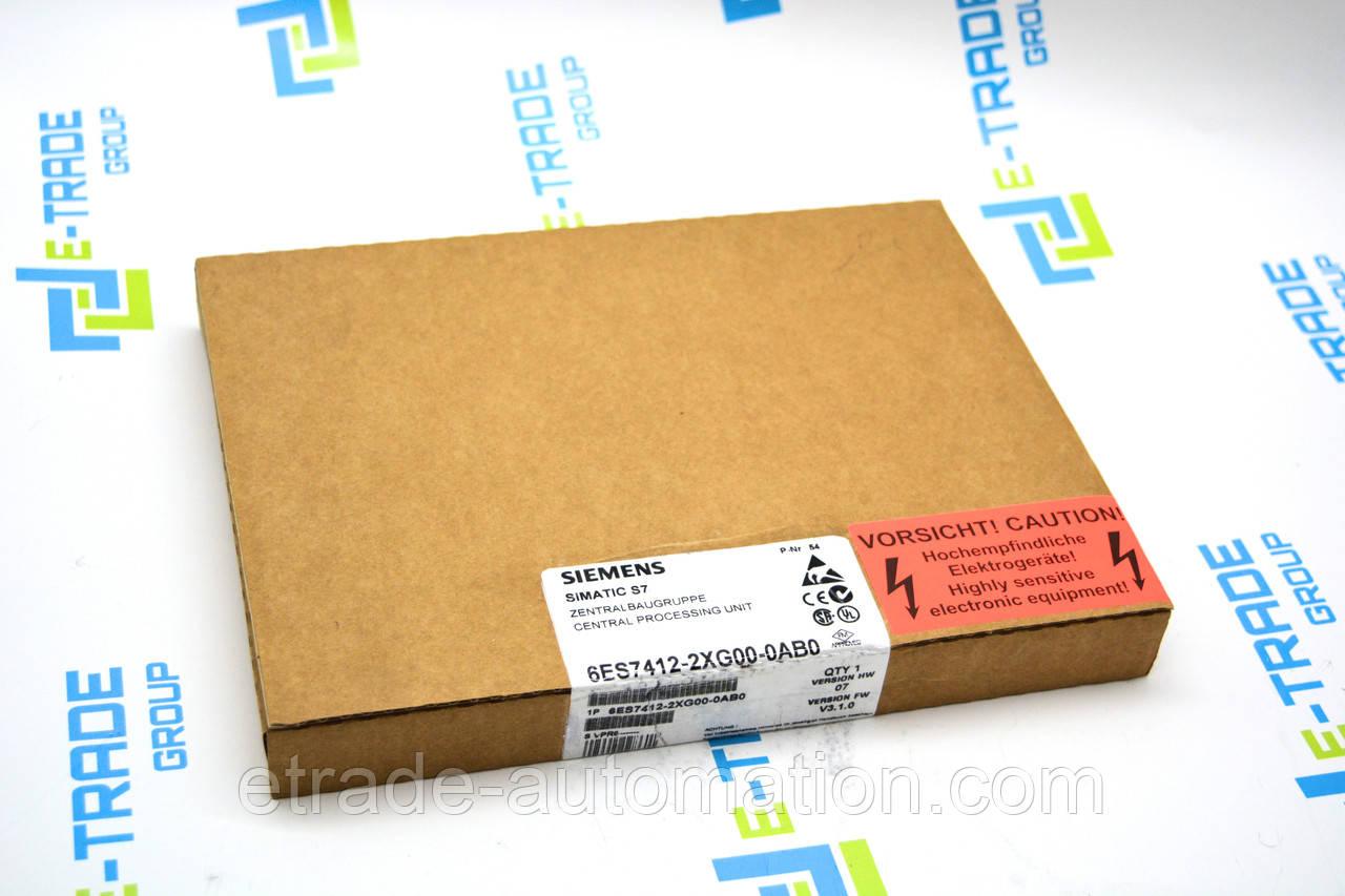 Siemens 6ES7412-2XG00-0AB0 Модуль дискретного вводу