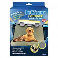 Автомобильный защитный коврик для перевозки собак кошек накидка чехол PetZoom сиденье багажник (Живые фото)