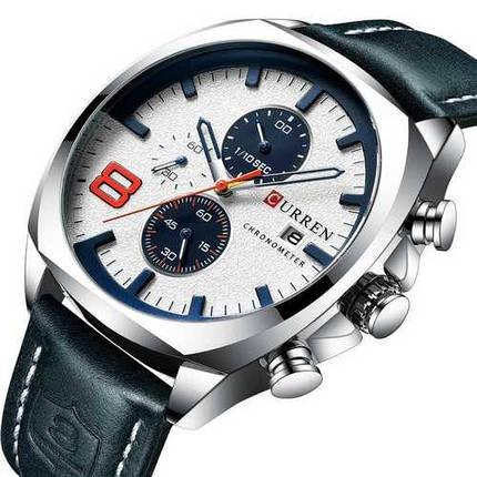 Оригинальные наручные часы Curren 8324 Silver-White | Оригинал Карен, Гарантия 1 год!, фото 2
