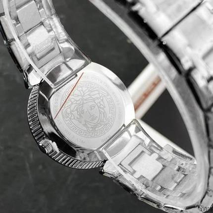 Наручные часы Versace 3103 Silver-Black | Копия Версаче, фото 2