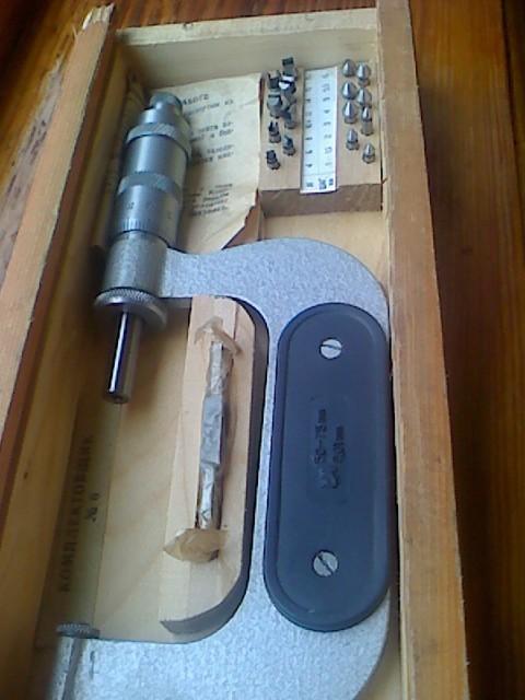 Микрометр резьбовой МВМ 50-75(Возможна калибровка в УкрЦСМ) ГОСТ 4380-93