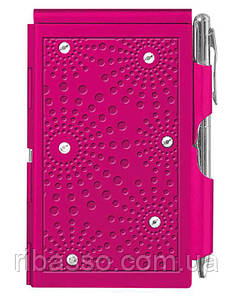 Troika Карманный блокнот с ручкой Glitz Pink