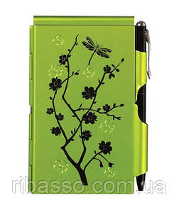 Troika Карманный блокнот с ручкой Lime Blossom