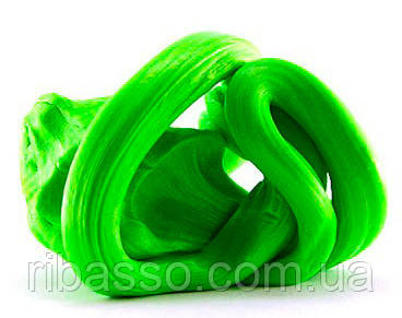 Handgum Классический ярко зеленый с запахом яблока-пластилин