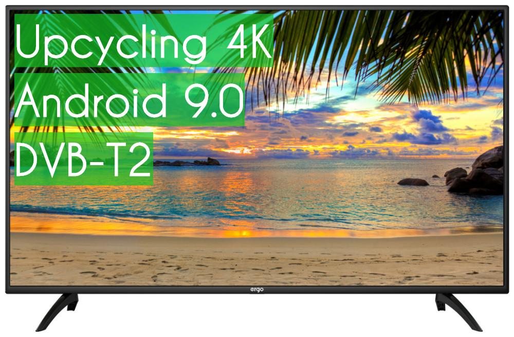 "Телевизор Ergo 50"" SmartTV (Android 9.0) + UHD 4K ГАРАНТИЯ!"