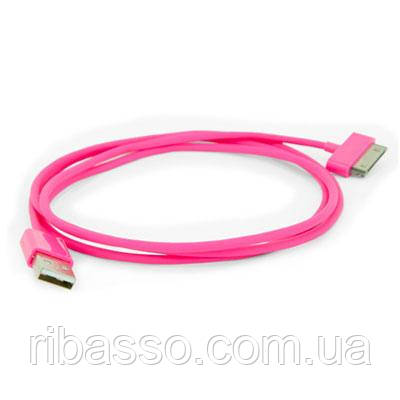 """Hi-Fun USB кабель для iPhone и iPad """"Aiino"""", розовый"""
