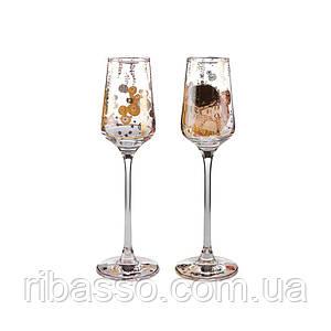 Бокалы для вина и шампанского The Kiss 2 шт