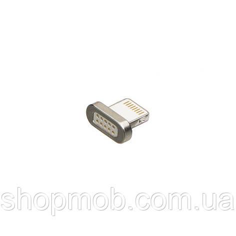 Адаптер Magnetic Clip-On Lightning Цвет Стальной, фото 2