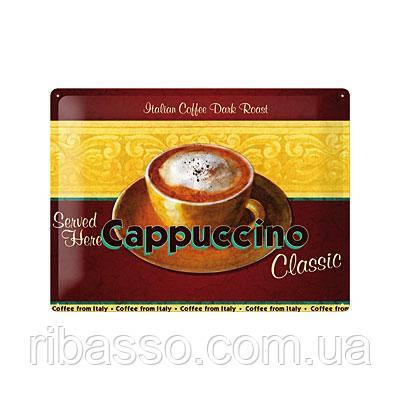 """Nostalgic Art Табличка """"Cappuccino""""  (20350)"""