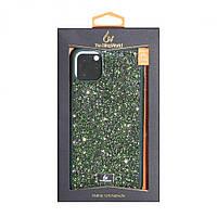 Чехол для телефонов смартфонов (с камнями ) Bling World RCPC for Apple Iphone 11 Pro Max Цвет Зелёный