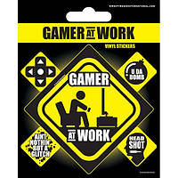 Pyramid International Винил. наклейки Gamer at Work
