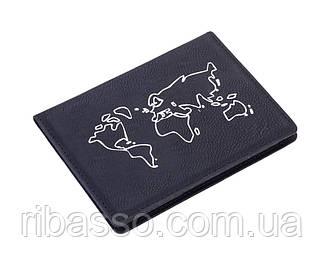 Обложка для паспорта с защитной пленкой от считывания (для чипов RFID)