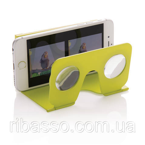 Loooqs Мини-очки Виртуальная реальность для смартфона зеленые