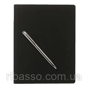 Набор Hugo Boss: папка А5 + шариковая ручка