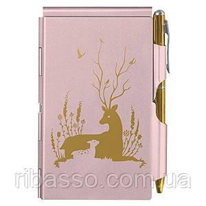 Troika Карманный блокнот с ручкой Deer