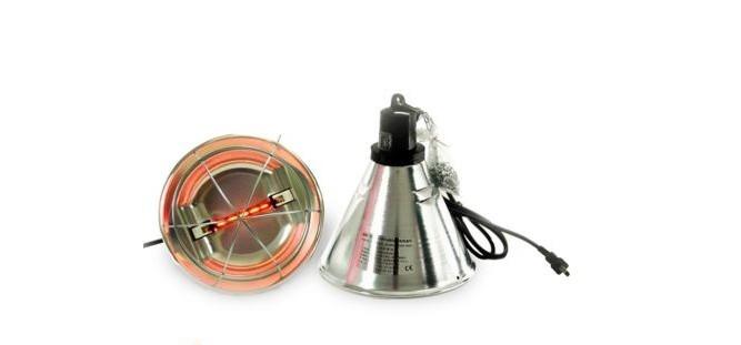 Защитный плафон для инфракрасной пальчиковой лампы