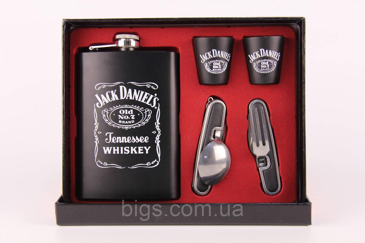 Фляга Джек Дениелс набор со стаканами