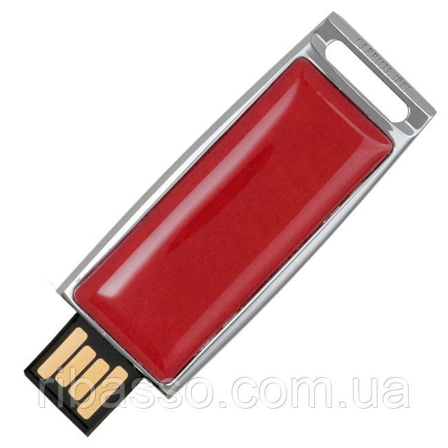 Cerruti USB-накопитель ZOOM красный