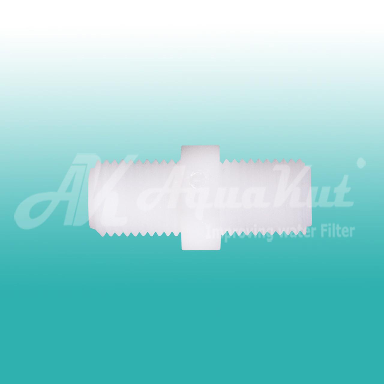 Переходник межколбовый 1/4НР х 16 гайка х1/4 НР; A-1072.
