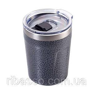 Термочашка для горячих напитков 160 мл металик
