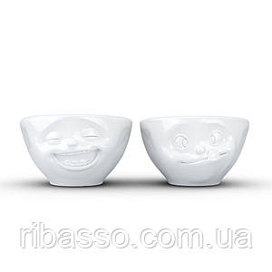 "Набор Tassen ""Laughing & Tasty"" из двух фарфоровых пиал (100 мл)"