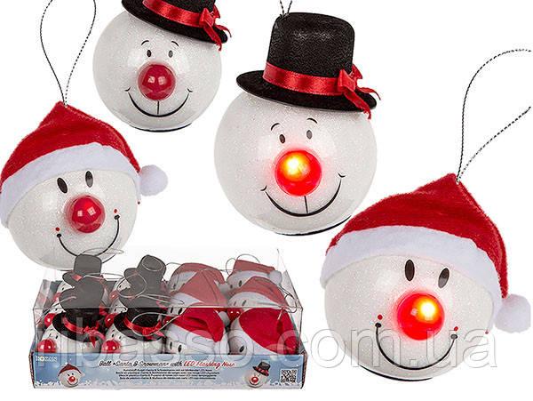 "OOTB Шар ""Santa & Snowman"" LED"