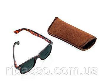 """Сонцезахисні окуляри коричневі """"CDU SUN"""" (+1)"""