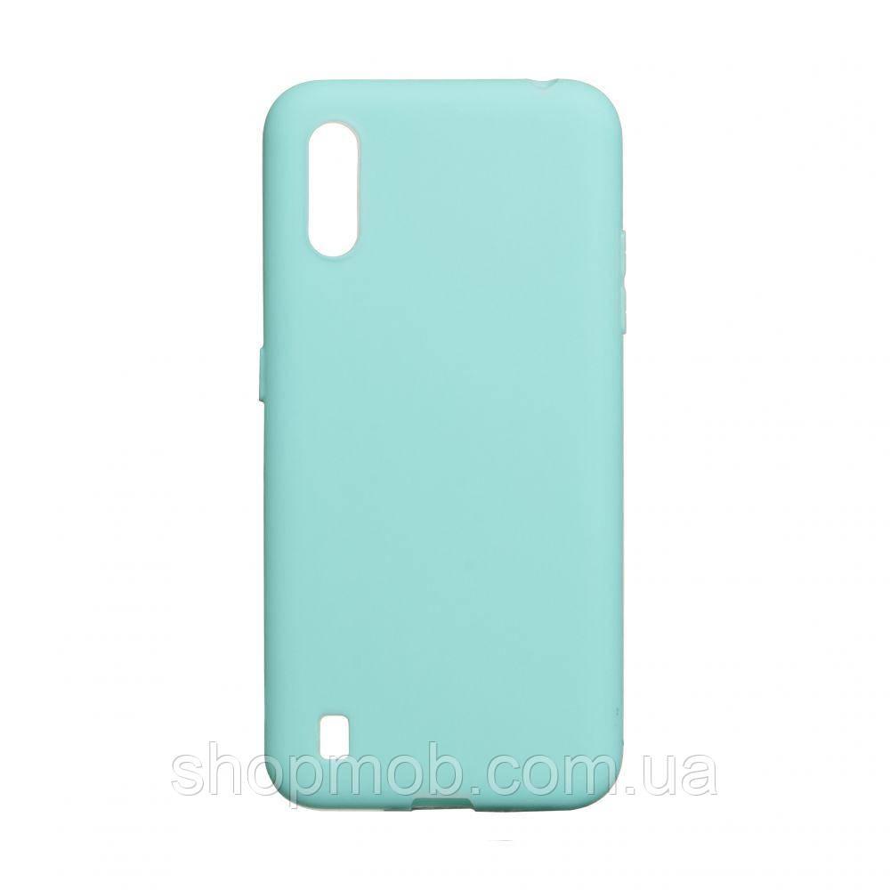 Чехол SMTT Samsung A01 Цвет Бирюзовый