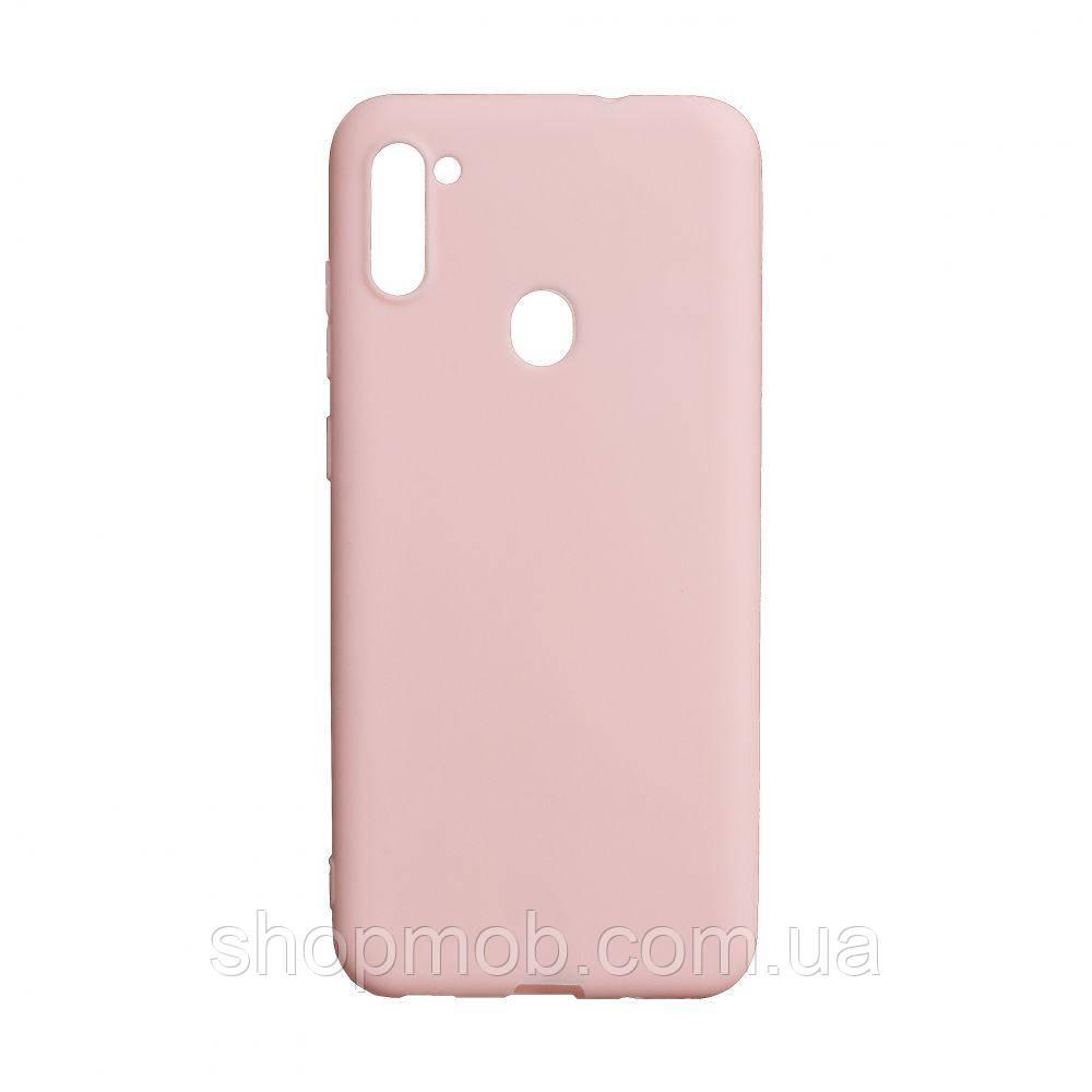 Чехол SMTT Samsung A11 / M11 Цвет Розовый