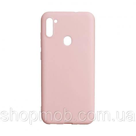 Чехол SMTT Samsung A11 / M11 Цвет Розовый, фото 2