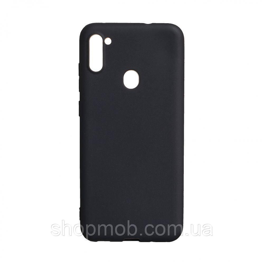 Чехол SMTT Samsung A11 / M11 Цвет Чёрный