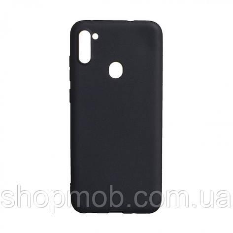 Чехол SMTT Samsung A11 / M11 Цвет Чёрный, фото 2