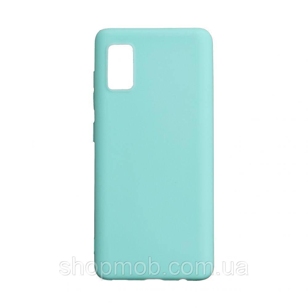 Чехол SMTT Samsung A41 2020 Цвет Бирюзовый