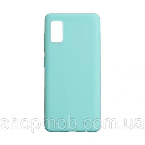 Чехол SMTT Samsung A41 2020 Цвет Бирюзовый, фото 2